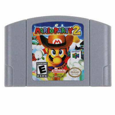 Super Mario, All series video Game Cartridge for Nintendo 64 - USA Version