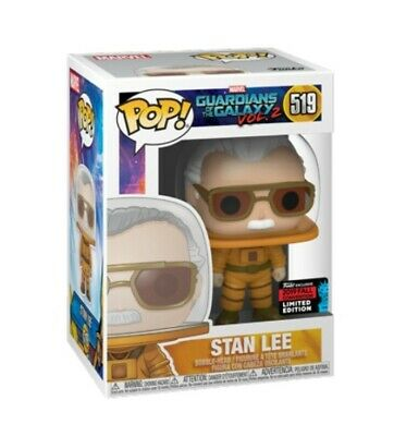 Funko Pop Marvel Stan Lee Cameo Astronaut NYCC 2019 Share PreOrder w/ protector