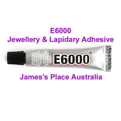 E6000 Industrial Strength Jewellery, Lapidary & Craft Adhesive