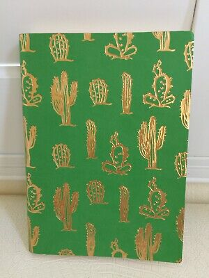 InTempo Firenze Italy Stationary Journal Diary Note Agenda Sketch Book GREEN New