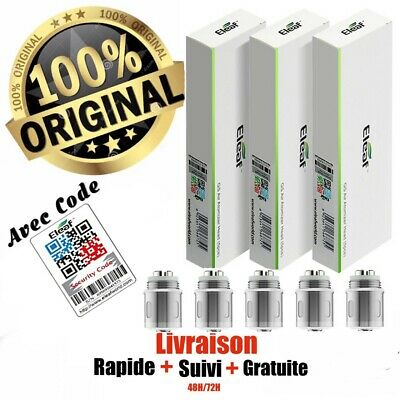 Résistances  ELEAF GS AIR  - 0.15/0,75/1.2/1.5 OHM  LOT 5 PIECE