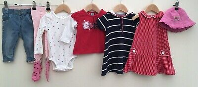Baby Girls Bundle 6-9 Months Tommy Hilfiger Mothercare M&Co <D8176