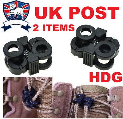 2X Toggle Stopper Paracord Buckle Boot Shoe Laces Rope Rucksack