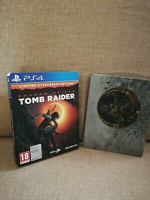 TOMB RAIDER shadow of the Tomb Raider ps4 (limited steelbook edition)