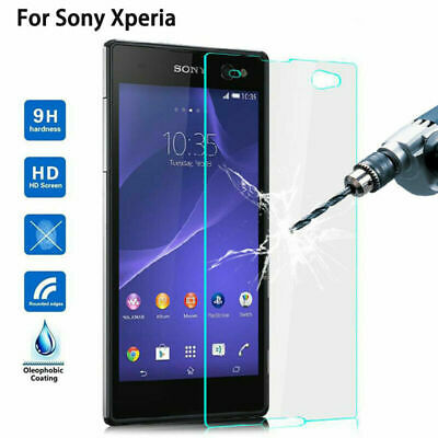 Gorilla-Tempered Glass Screen Protector For Sony Xperia Following Models