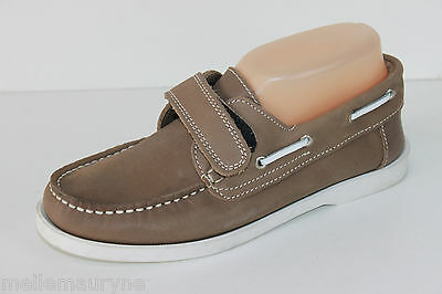 Mocassin Andre Leather Flexible Taupe Scratch T 36 Top Condition
