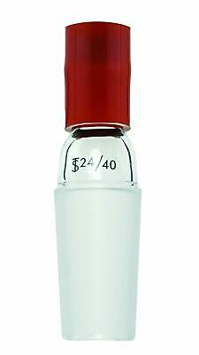 Chemglass CG-1038-01 Borosilicate/Rubber Adapter, Thermometer, Inlet, 24/40 Inne