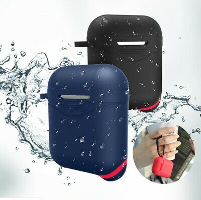 For iphone Apple Airpod Case Cover Anti Lost Strap enhanced Shockproof Holder