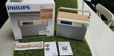 Philips - Portable DAB+ FM Radio AE5020/05, With Charger, Manual & Box