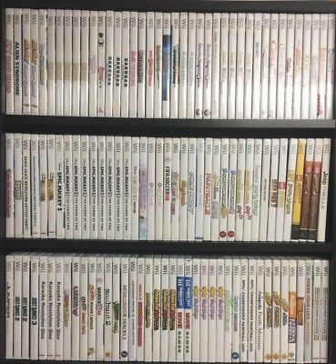 Nintendo Wii Games Complete Fun Pick & Choose Video Games Mario