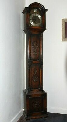 Reproduction Grandmother Clock with Latin Inscription