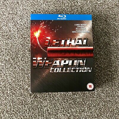Lethal Weapon Collection 1, 2, 3, 4 Blu Ray Box Set 1-4