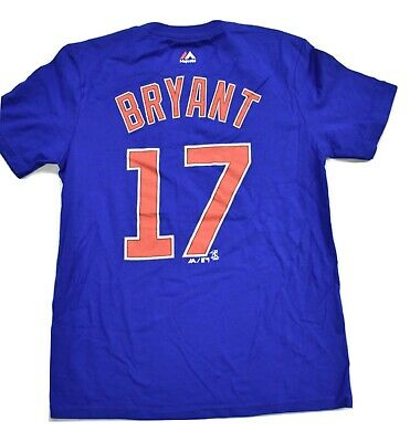 Majestic MLB Youth Chicago Cubs Kris Bryant Shirt Look M