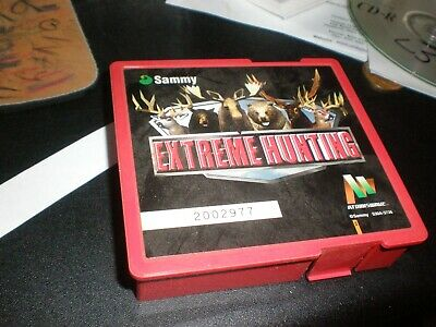 1 SAMMY EXTREME HUNTING ARCADE GAME fot atomiswave