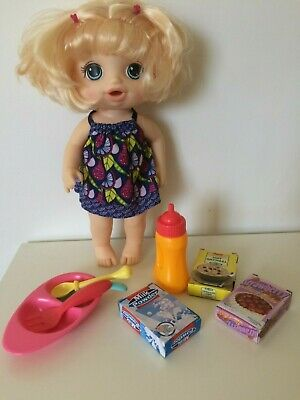 Baby Alive Sweet Spoonfuls Doll, with accessories