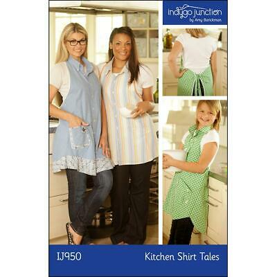 "INDYGO JUNCTION /""SIXTIES SMOCK IJ1111/"" Sewing Pattern"