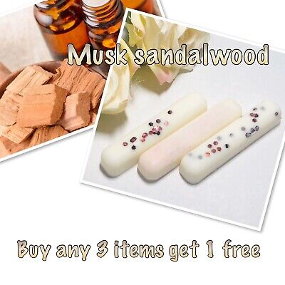Musk Sandalwood Designer Soy Wax Melt Snap Bar HIGHLY SCENTED-candle Wax Melts