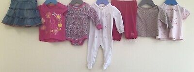 Baby Girls Bundle 3-6 Mothercare Next TU Joules Little White Company <H8258