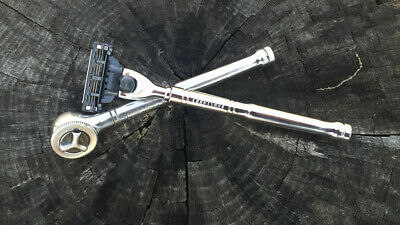 """Craftsman 1/4"""" drive 9-43795 Ratchet (Made In USA) turned Razor"""