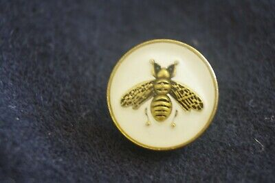 ❤GUCCI BUTTONS LOT OF 4  BEE 14 mm or 0,5 inch Small Metal