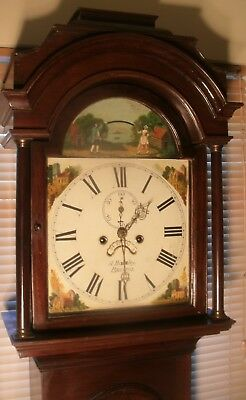 "Antique ""  Automation Tennis Ball ""  Bristol Grandfather / Longcase Clock"