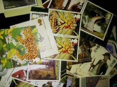 150 X 2nd Class Small parcel combinations Stamps  MNH FV £450