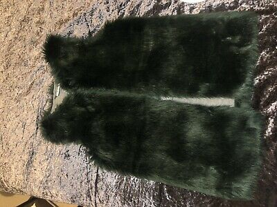 Girls Next Fur Gilet Age 10