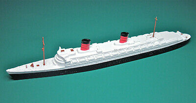 Triang Minic Ship M702 Rms Queen Elizabeth Reconditioned Vg