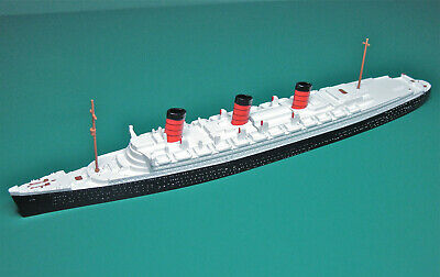 Triang Minic Ship M703 Rms Queen Mary Reconditioned Vg