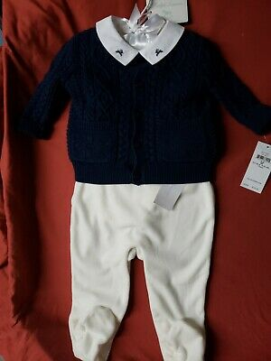 Ralph Lauren Baby Boy Holiday Collection 3 Piece Sweater Set 9 Months NWT $125