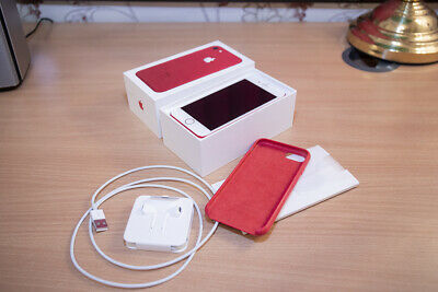 Apple Iphone 7 (PRODUCT) RED 128gb UNLOCKED - Used With Box etc