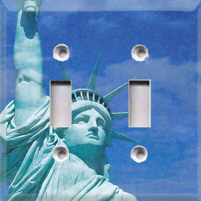 Statue Of Liberty America Themed Light Switch Plate Cover ~ Choose Your Cover ~