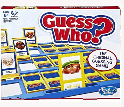 Guess Who? Classic Game By Hasbro Family Night Boys And Girls Present New Sealed