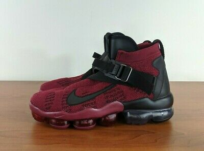 Nike Air Vapormax Premier Flyknit Mens Sneakers Red Black AO3241-600 Size 9