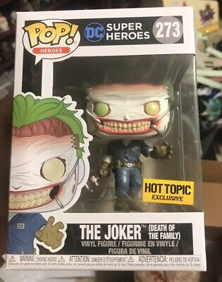 Funko Pop! DC Comics The Joker Death of the Family #273 Hot Topic Exclusive