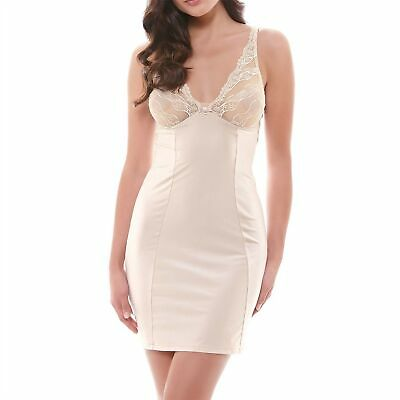 Wacoal Eclat Cafe Au Lait Chemise / Slip / Nightie & Thong Set Size Uk S / Au 10