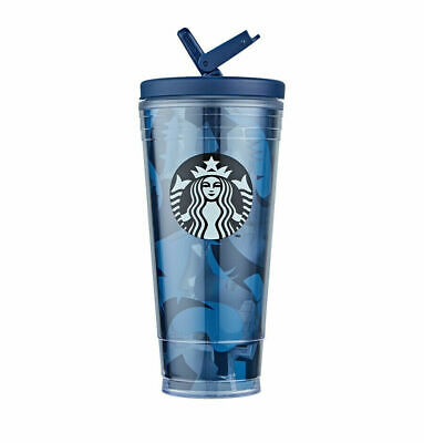 Starbucks Korea 2019 Autumn Camouflage Pia Limited Tumbler 591ml Cold Cup + Gift