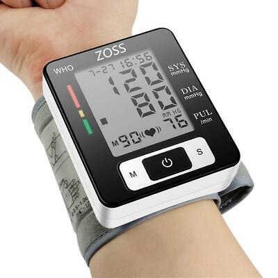 Blood Pressure Meter Electronic Portable Cuff Wrist Heart Rate Pulse BP Monitor