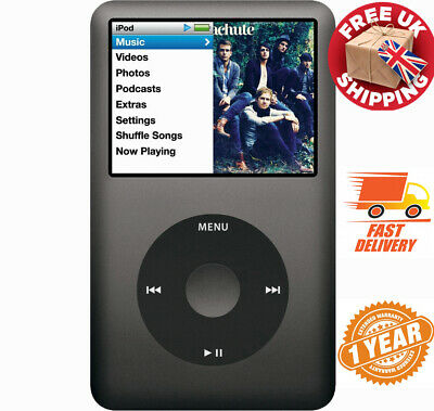 NEW ! Apple iPod Classic 7th Gen Black / Space Grey / Silver 120GB WARRANTY