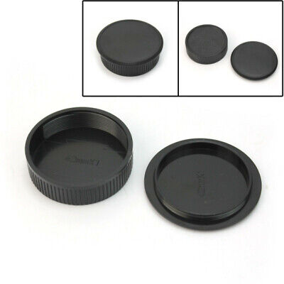 42mm Plastic Front & Rear Cap Cover For M42 Digital Camera SWY