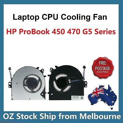 Genuine CPU Cooling Fan for HP ProBook 450 G5 455 G5 470 G5 Series L03854-001