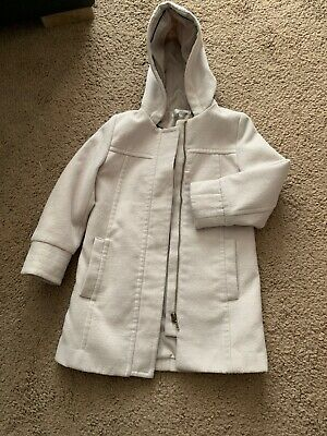 Girls Duffle Coat. Aged 7. Jasper Conran. Beige. Good Clean Condition.