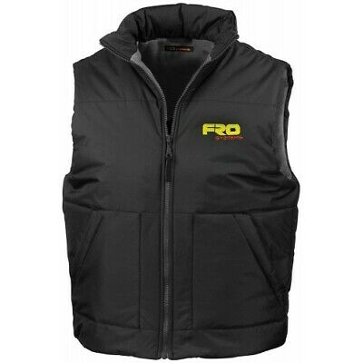 Fro Systems Kids Youth Motocross Mx Body Warmer Age 9-11 Black