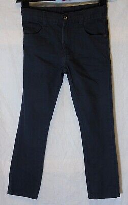 Boys George Charcoal Grey Adjustable Waist Regular Fit Jeans Age 6-7 Years