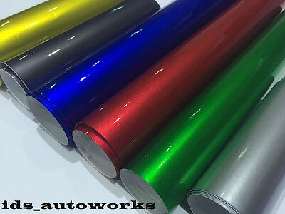 UK Pearl Candy Chrome Car Vinyl Wrap Bubble Free Many Colors