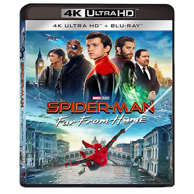 Spider-Man: Far From Home (4K Uhd+Blu-Ray)  [Blu-Ray Nuovo]