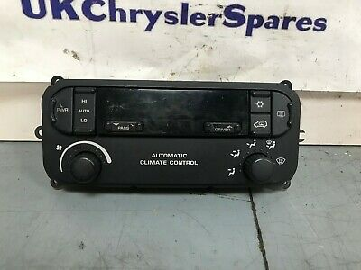 Chrysler Voyager Ac Climate Panel Heater Control Switch 05127377Aa 2004-2008