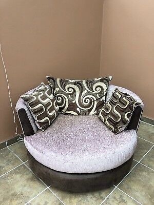 Remarkable Dfs Swivel Cuddle Chair 120 00 Picclick Uk Cjindustries Chair Design For Home Cjindustriesco