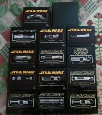 Master Replicas Star Wars .45 Lightsaber Collection