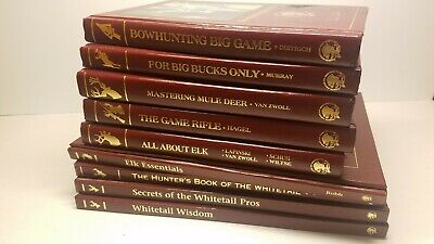 Lot 9 North American Hunting Club Books Elk Big Bucks Whitetail Rifle Mule Deer